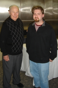 Me with Chuck Yeager