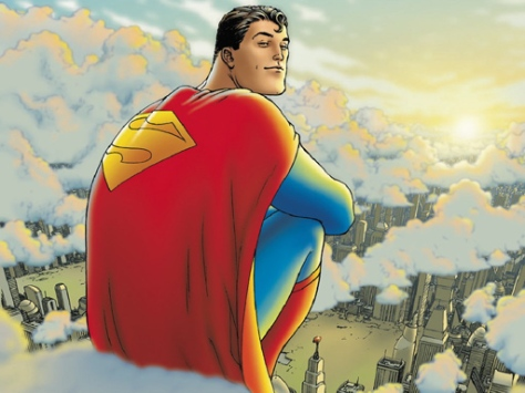 All Star Superman, art by Frank Quitely