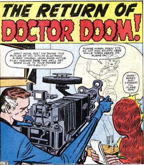 Any excuse to get a girl in front of an x-ray machine, eh Reed?
