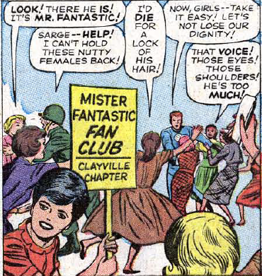 mr fantastic fan club